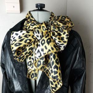 Echo silky cheetah print  scarf